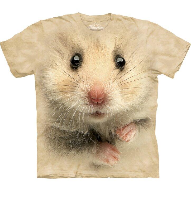T-Shirt Hamster Gesicht