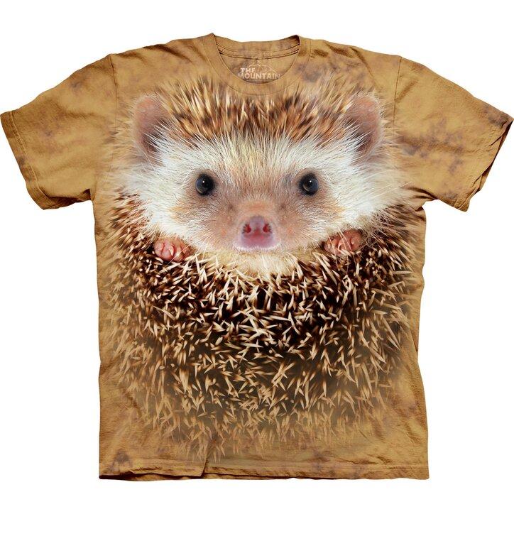 Tričko Obličej ježka