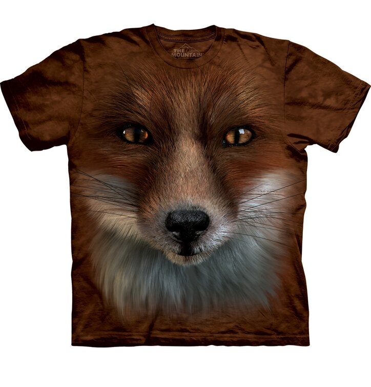 T-Shirt Gesicht Fuchs