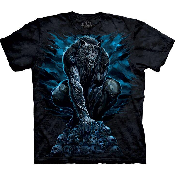 Tričko Strašidelný vlkolak