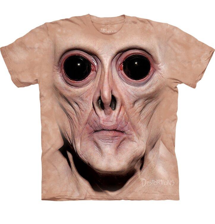 Tričko Obličej Krema