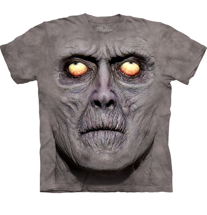 Tričko Tvár zombie