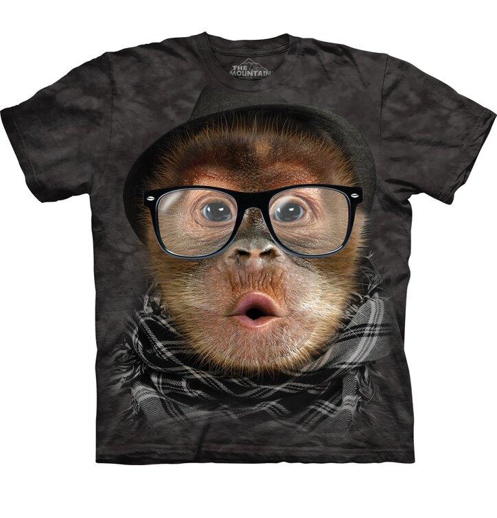 Tričko Hipster orangutan
