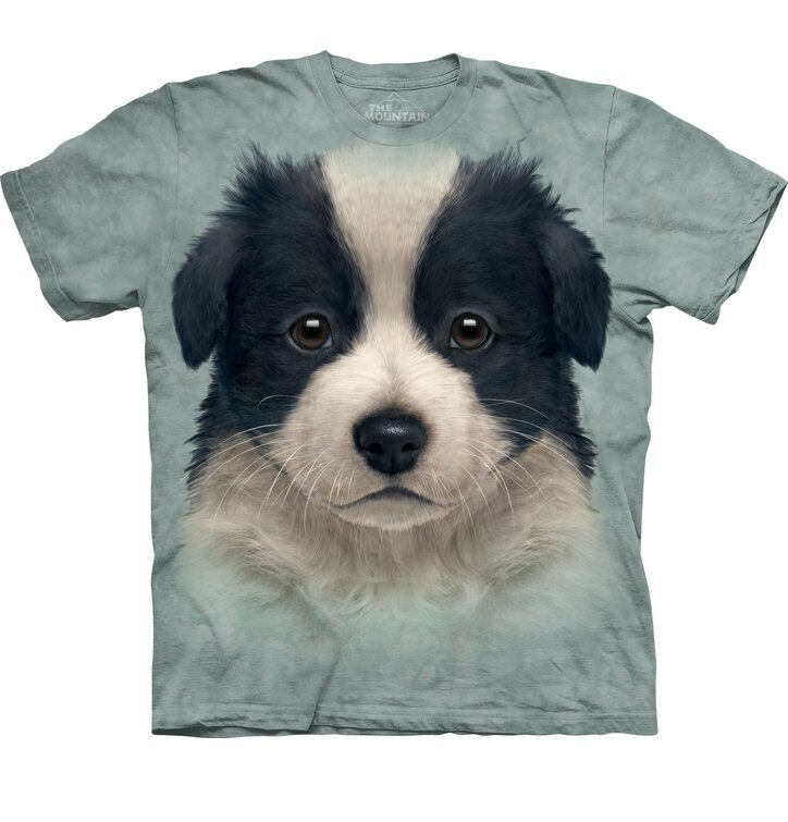 T-Shirt Border Collie Welpe