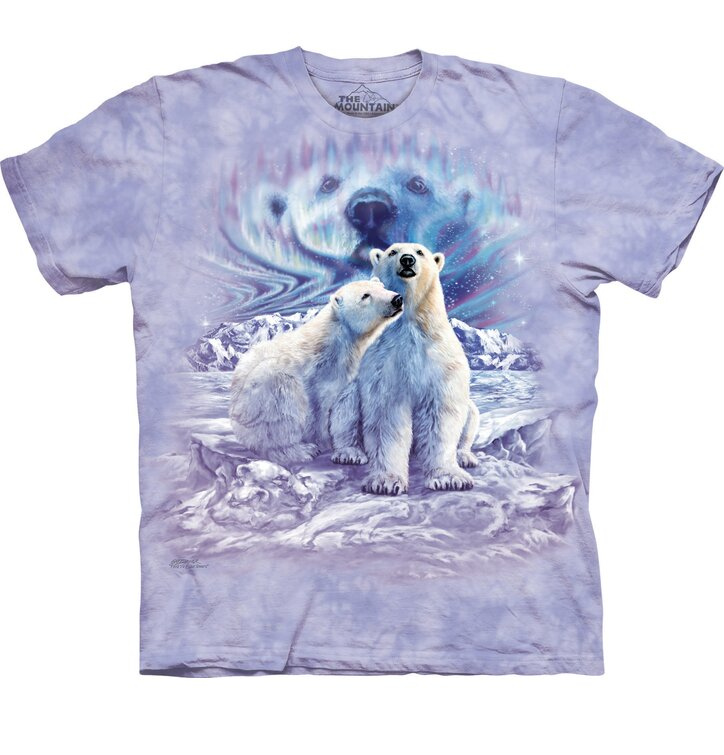 Tričko Najdi 10 párů polárních medvědů