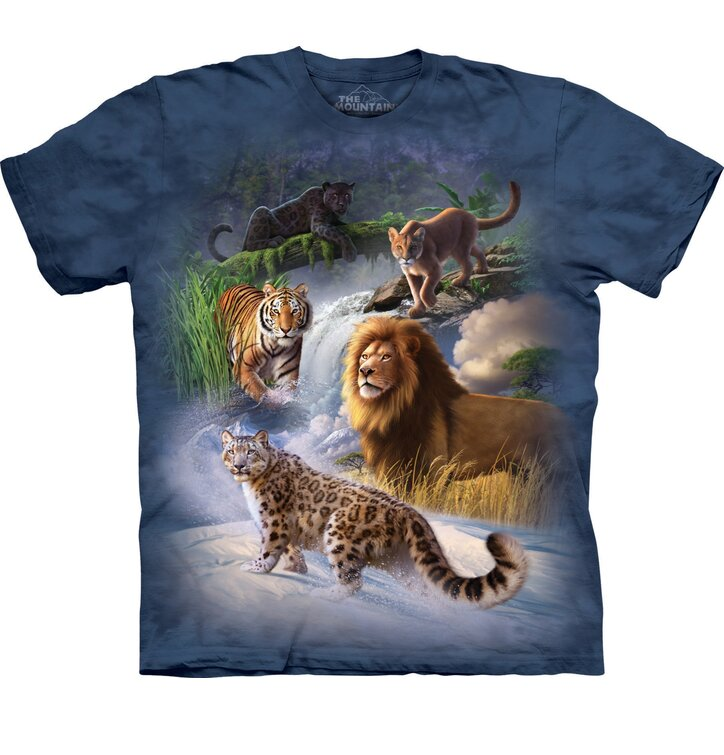 T-Shirt Raubtiere in Natur