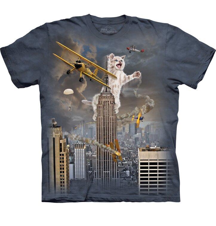 T-Shirt Katzen- King Kong
