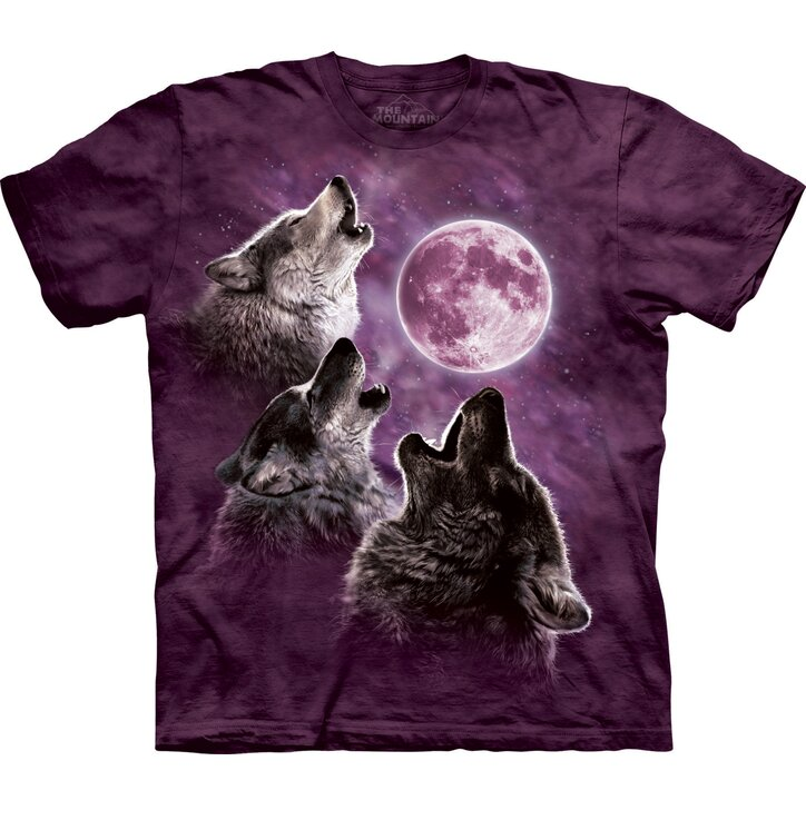 3 Wolf Moon Purple