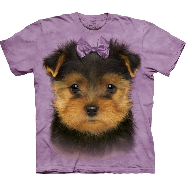 T-Shirt Yorkshire Terrier Welpe