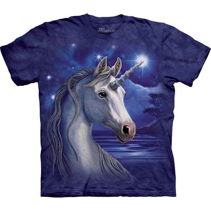 T-Shirt Einhorn mit Stern auf der Stirn