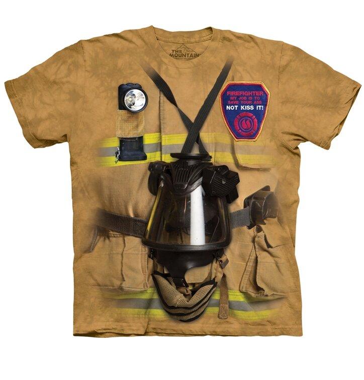 Tričko Práca hasiča