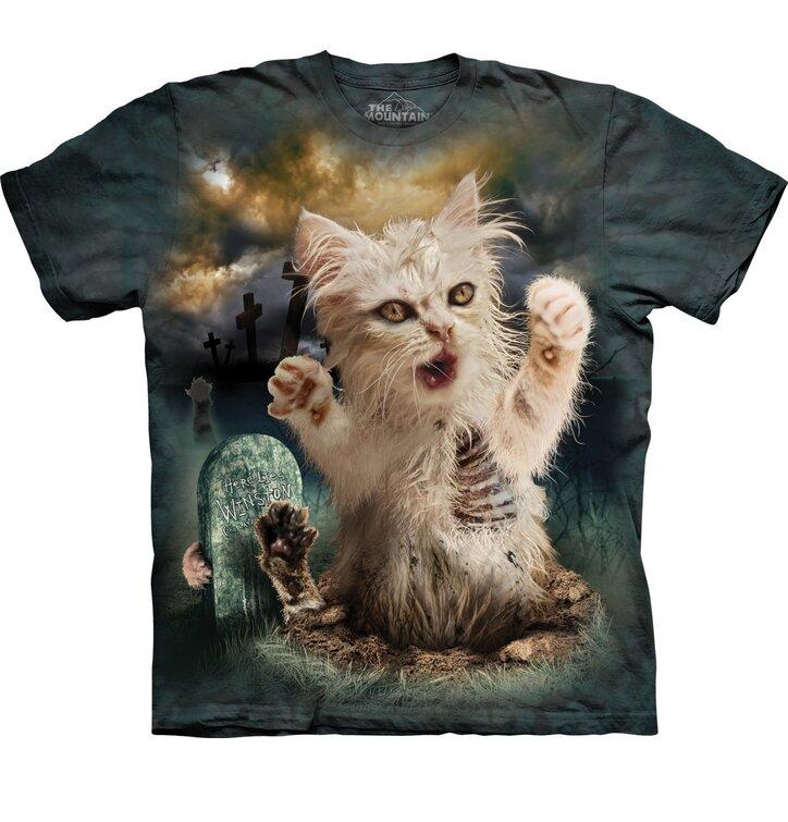 Tričko Zombie kočka