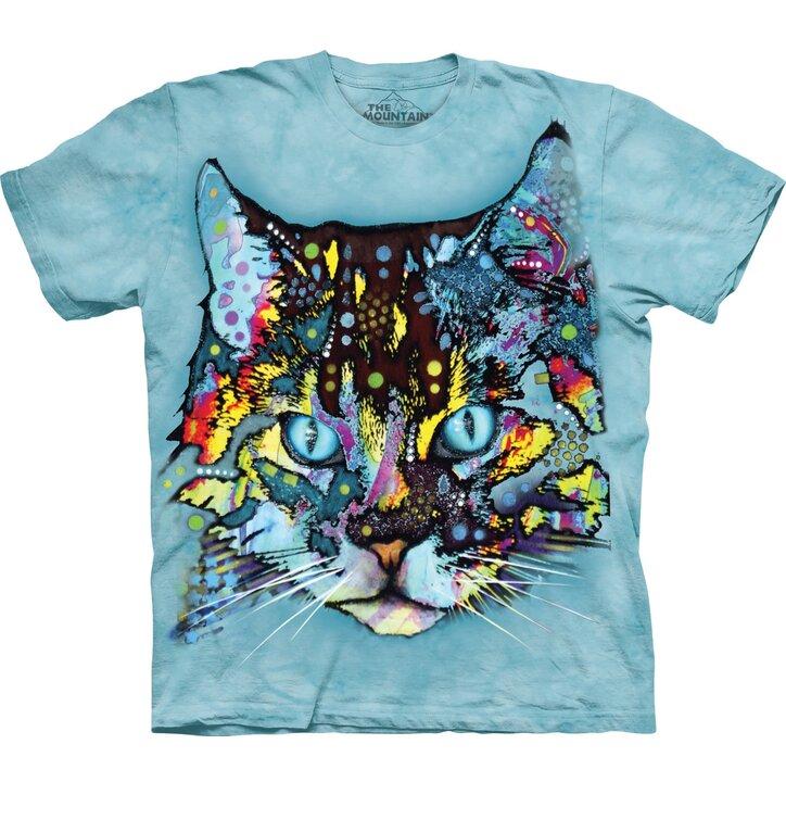 Tričko Russo hypnotizující kočka