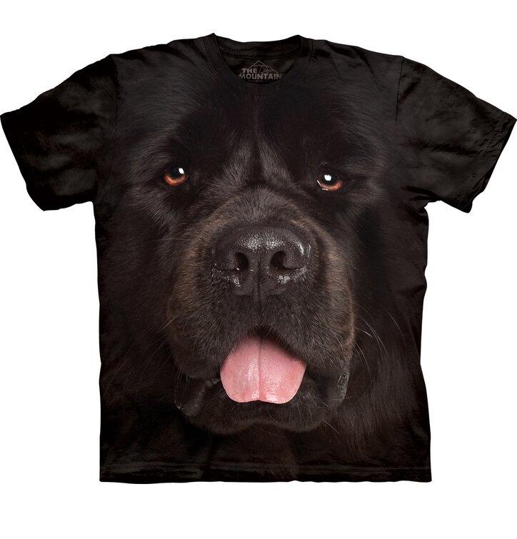 Tričko Tvár novofunlandského psíka