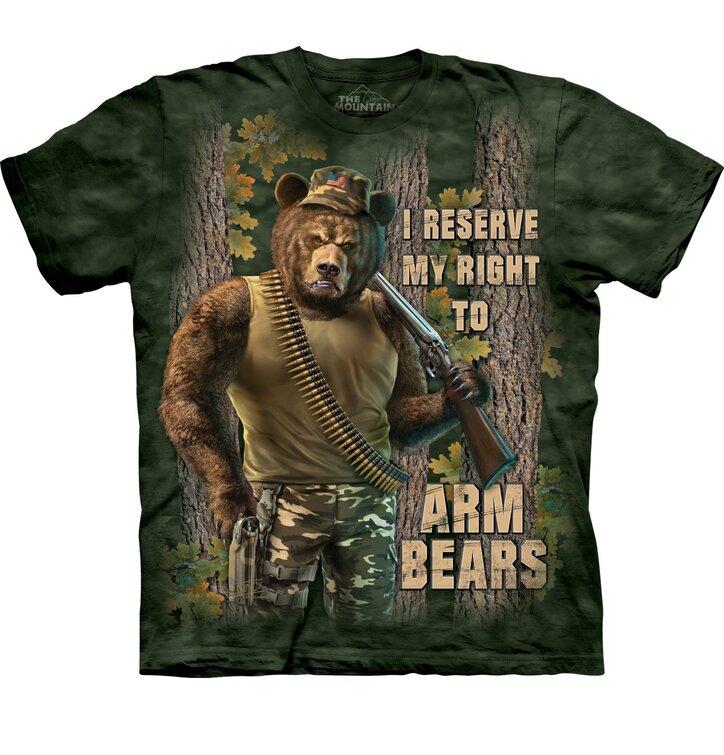T-Shirt Bewaffnete Bären