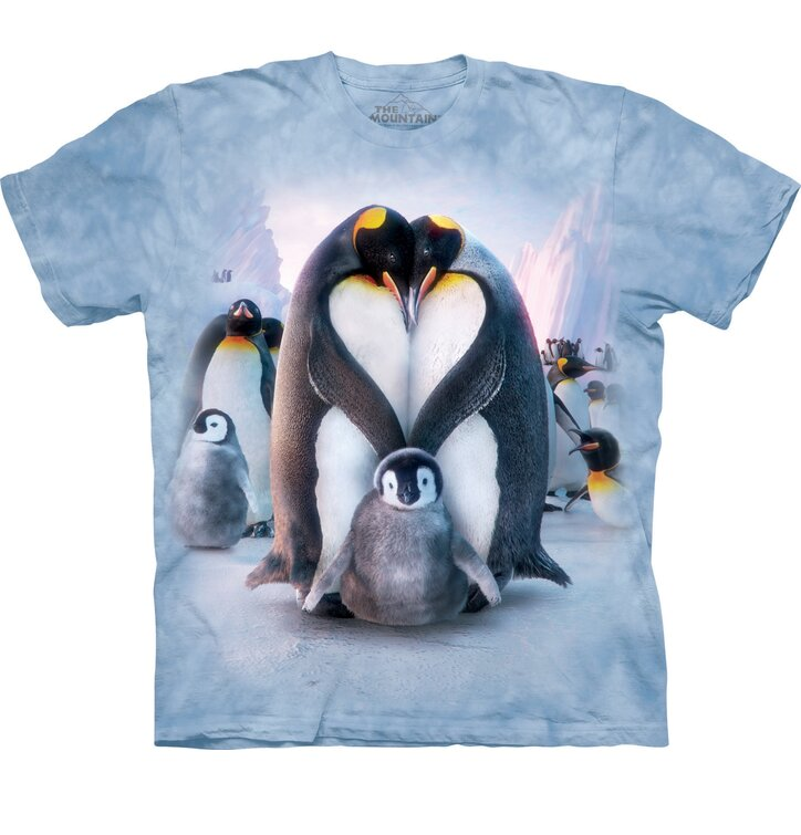 T-Shirt Pinguinfamilie