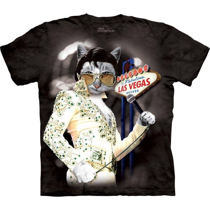 Macska Elvis póló