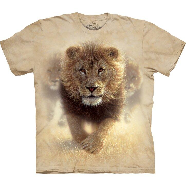 Tričko Lev v púšti