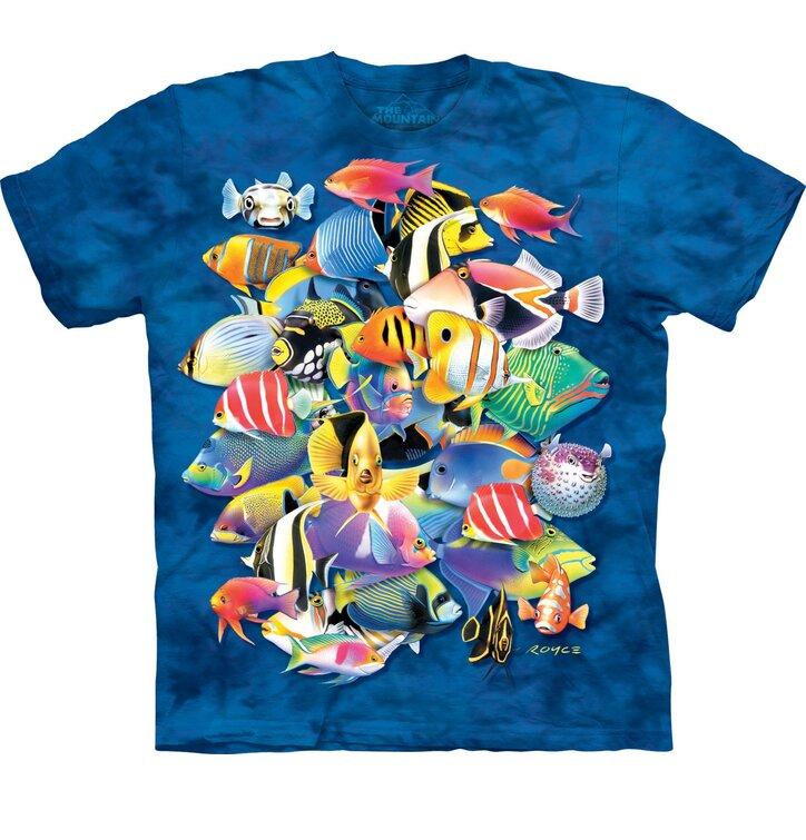Tričko Tropické ryby