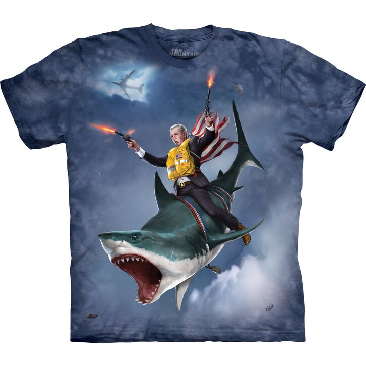 Dubya Shark Aquatic T Shirt