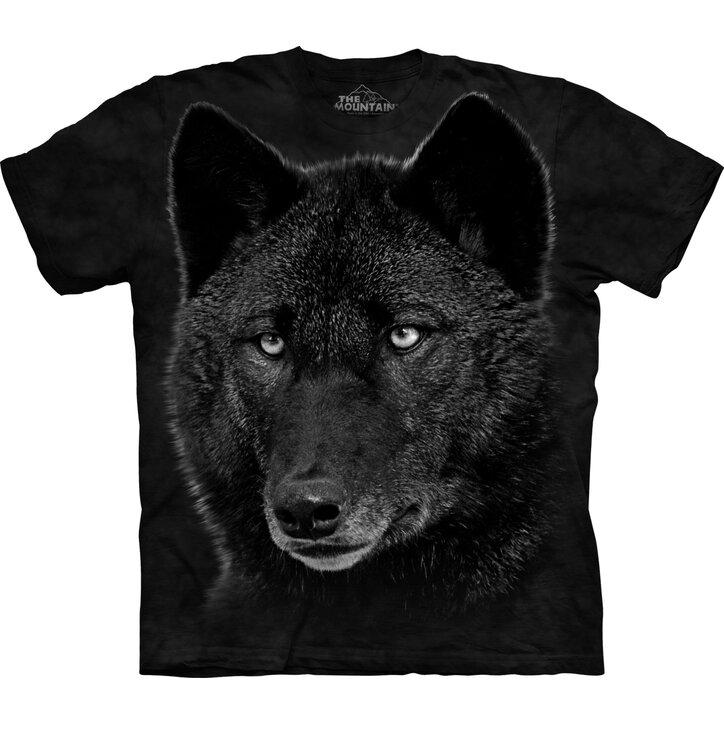 Fekete farkas póló