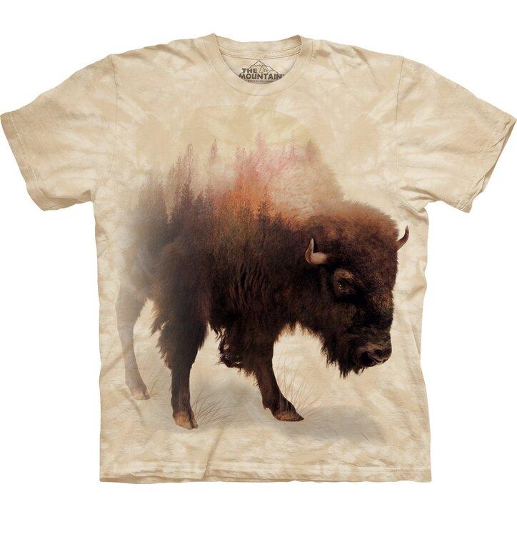 Tričko Bizon a les