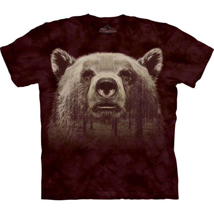 Medve arc és az erdő póló