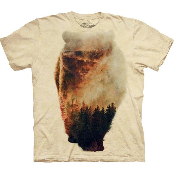 Tričko Lesní medvěd