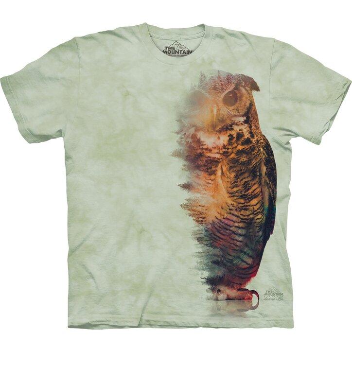 Tričko Lesní sova
