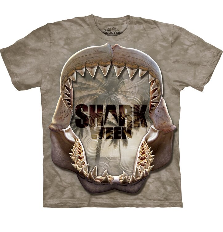 Shark Week Reflect Mono TShirt