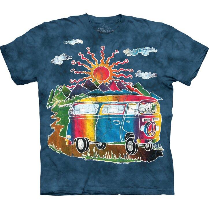 Tričko Batikový autobus