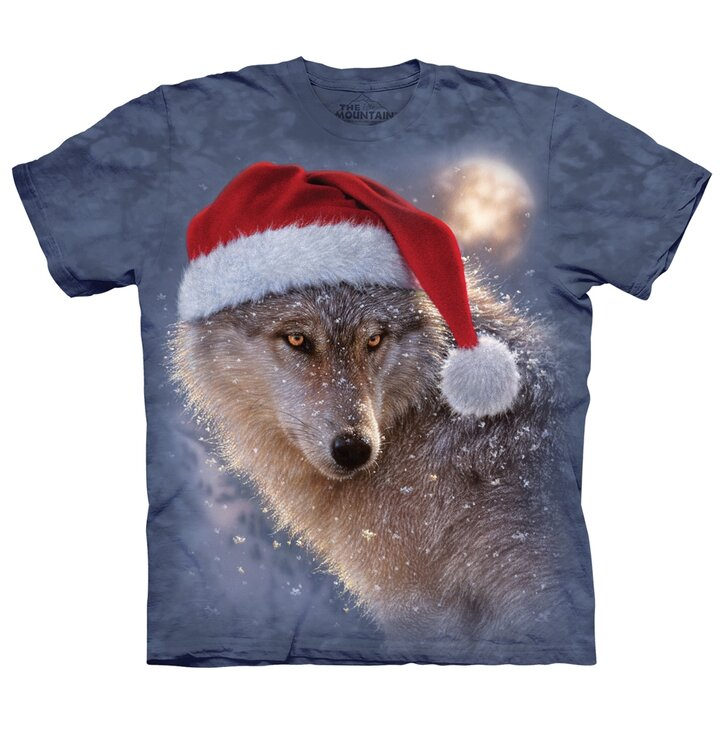 Holiday Wolf Adult