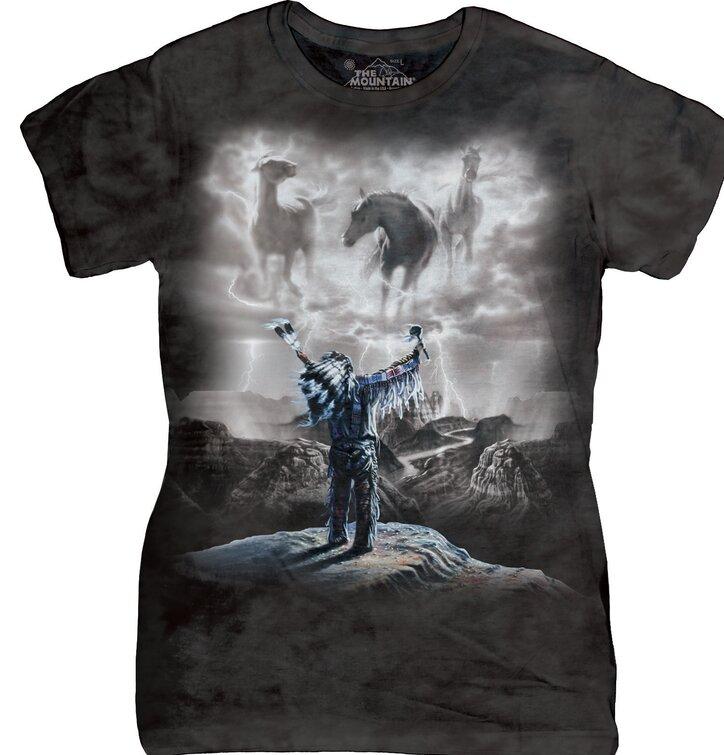 Dámske tričko Vyvolávanie búrky