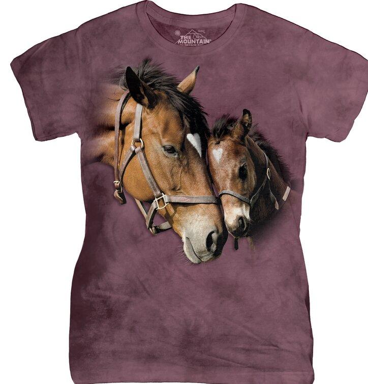Tierische und natürliche T-Shirts für Damen
