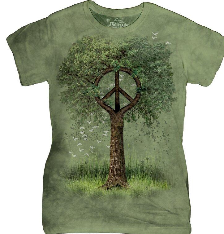 Dámske tričko  Korene mieru