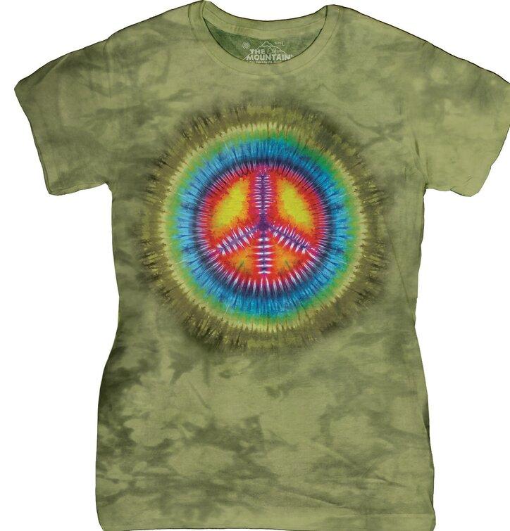 Dámske tričko Tie Dye Mier