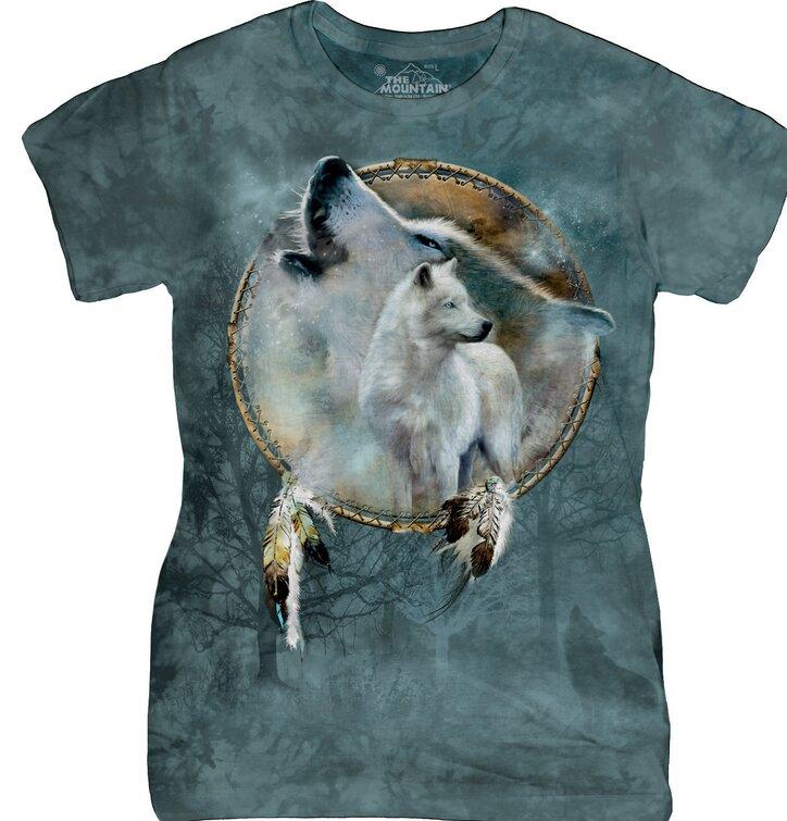 Dámské tričko Vlčí duch