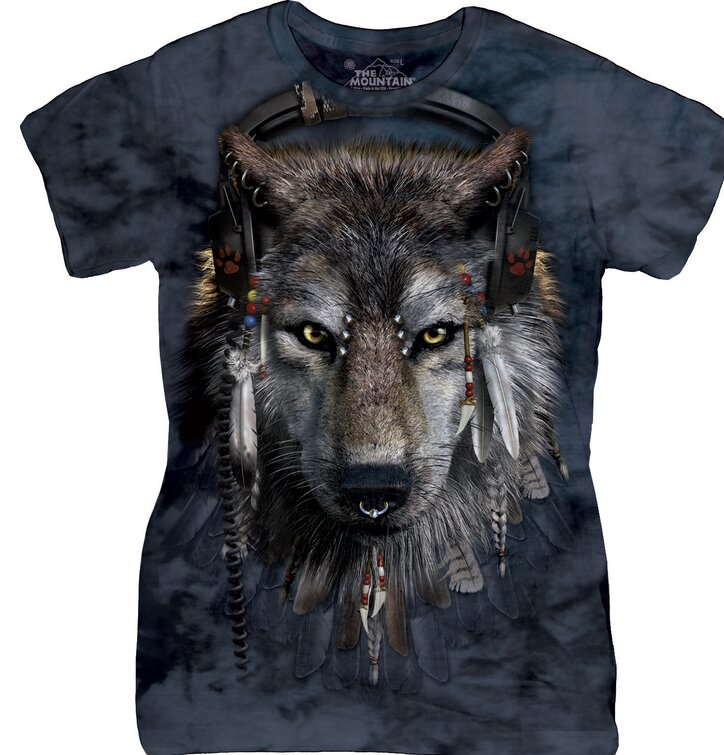 Dámske tričko DJ Vlk