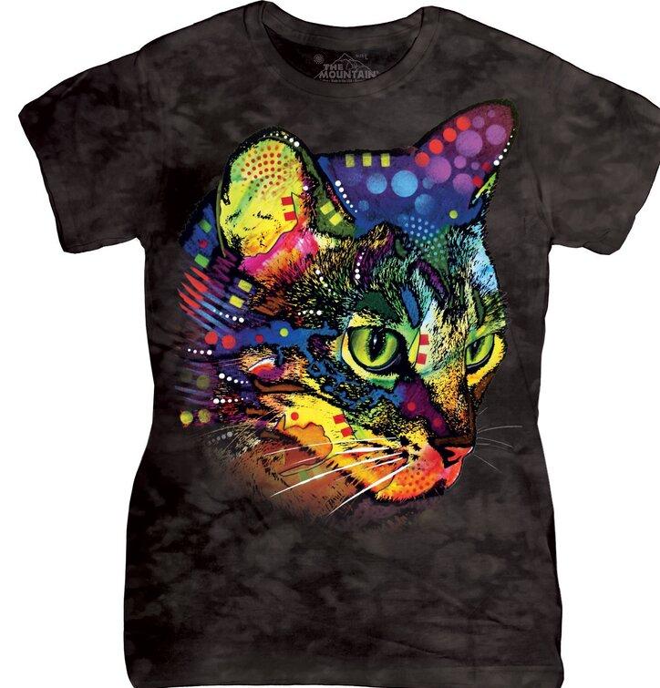 Dámské tričko Russo mačka