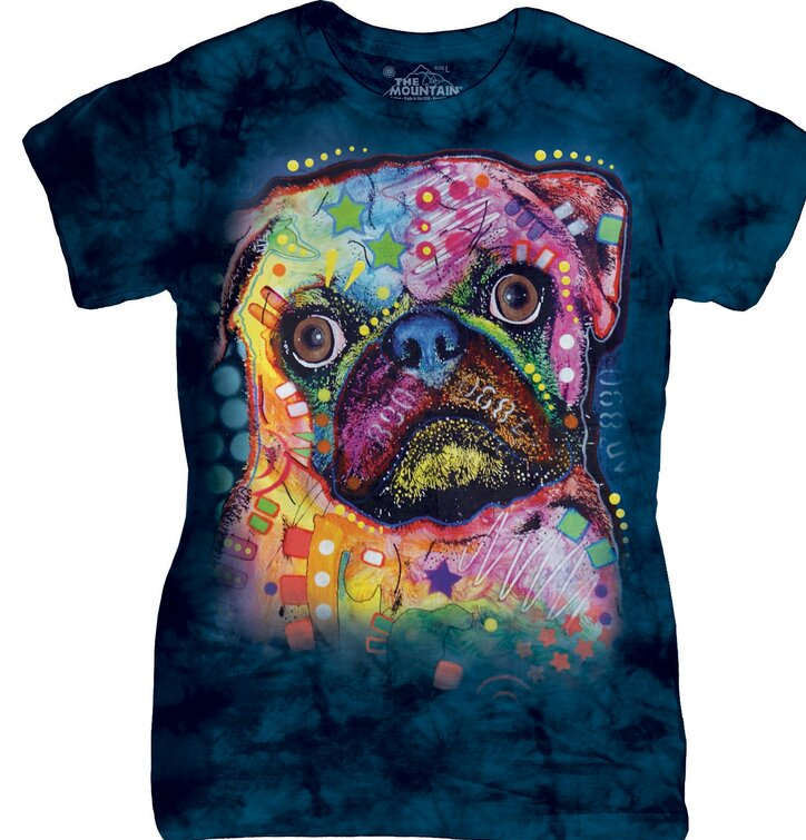Russo Pug Dean Russo T Shirt