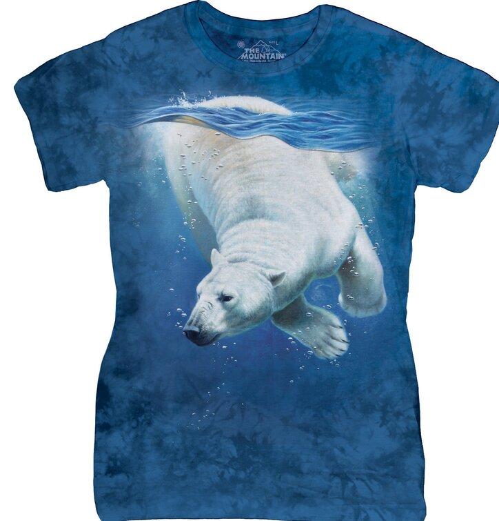 Dámske tričko Ľadový medveď
