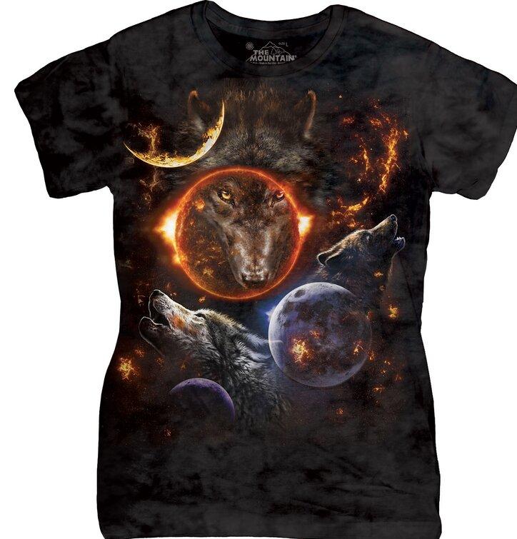 Tricou damă Cosmic Wolves