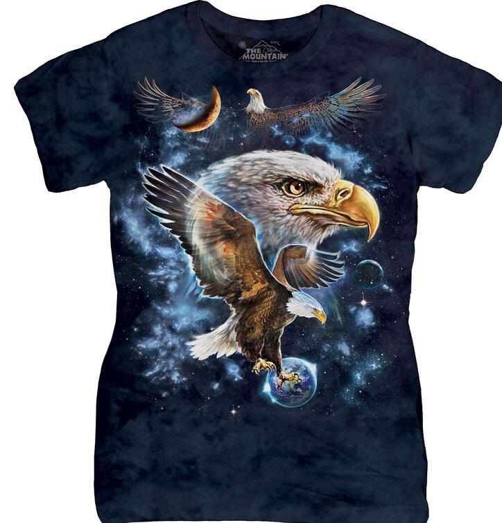 Dámske tričko Orol vo vesmíre