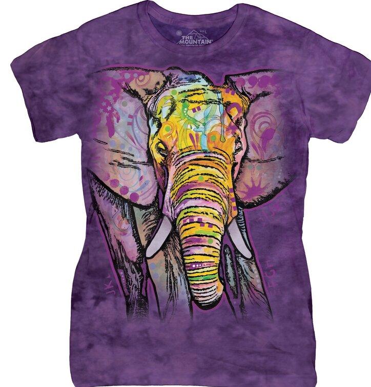 Damen T-Shirt Russo Elefant