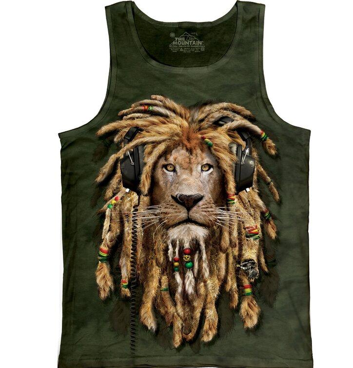 Unterhemd Filzlockener Löwe