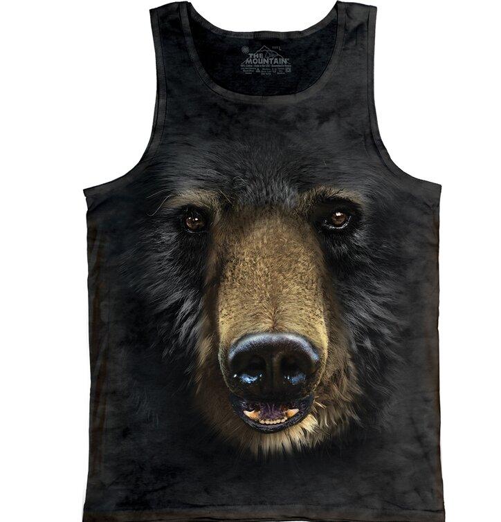 Black Bear Face  Unisex