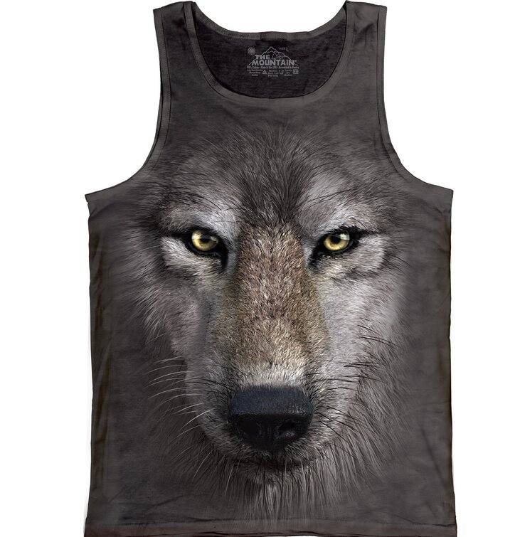 Wolf Face  Unisex Adult
