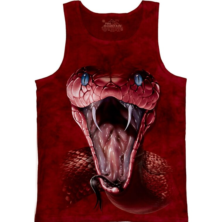 Red Mamba Snakes Tank Top