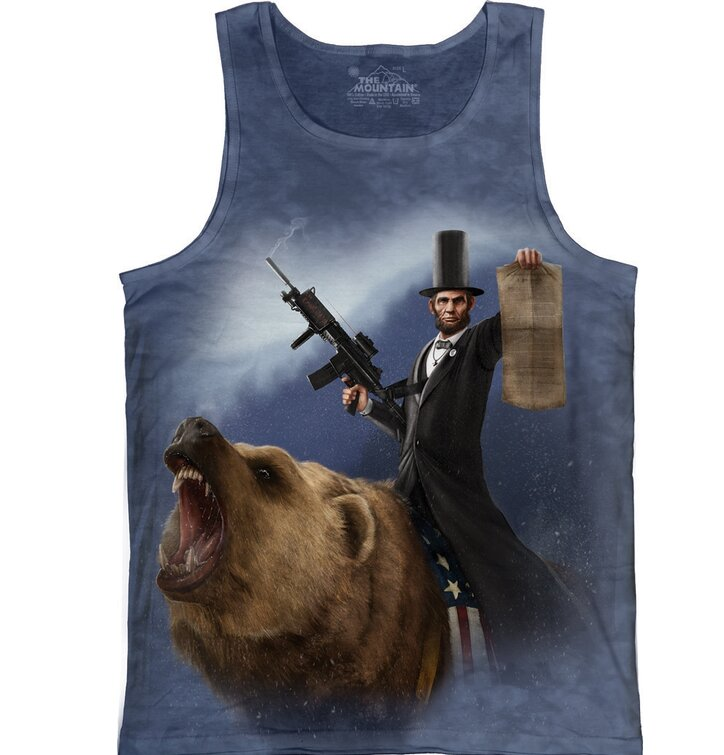 Lincoln Emancipator Tank Top