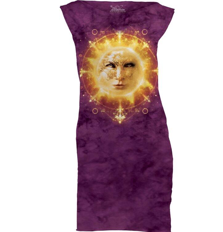 Sun Face  Mini Dress